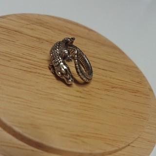 シルバークロコダイルお守りリング(リング(指輪))