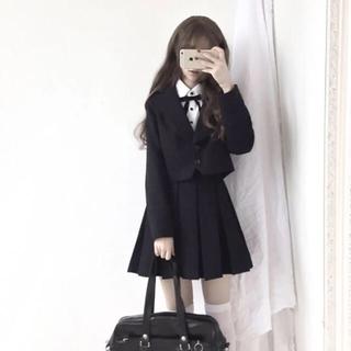アンクルージュ(Ank Rouge)のゴシックロリータ やみかわ 第一学園 黒スーツコート(その他)