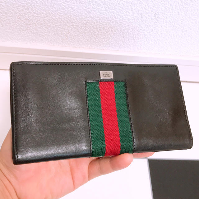 Gucci - 《美品》GUCCI(グッチ)長財布の通販 by スカーレット's shop