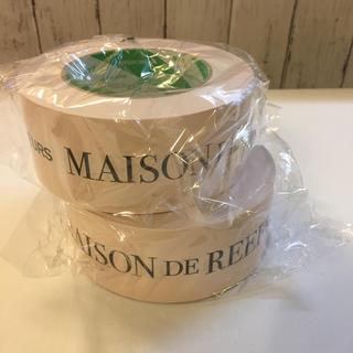 メゾンドリーファー(Maison de Reefur)のメゾンドリーファー ガムテープ クラフトテープ 薄いピンクベージュ2個(テープ/マスキングテープ)
