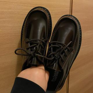 ディーホリック(dholic)のローファー ブラウン 24.5cm(ローファー/革靴)