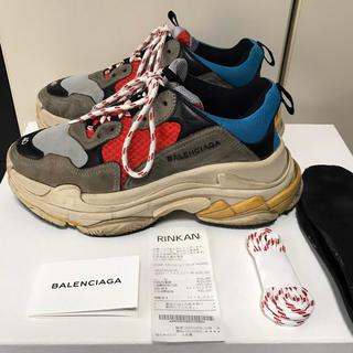 バレンシアガ(Balenciaga)のレシートあり BALENCIAGA  tripleS イタリア製 40(スニーカー)
