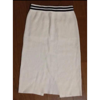 ウィゴー(WEGO)のニットスカート(ひざ丈スカート)