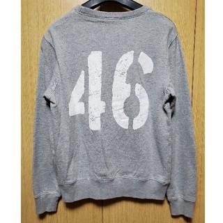 ノギザカフォーティーシックス(乃木坂46)の乃木坂46  トレーナー  グレー  N46ロゴ  Sサイズ(スウェット)