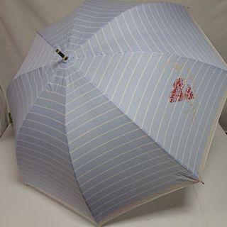ランバンオンブルー(LANVIN en Bleu)の新品 ランバンオンブルー 雨傘 長傘 ブルー LANVIN en Bleu(傘)