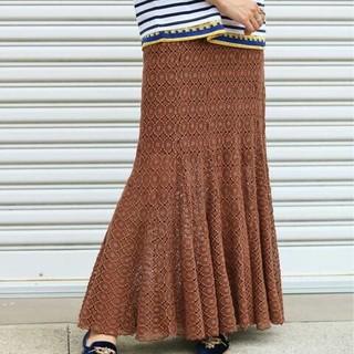 イエナ(IENA)の★IENA LA BOUCLE★ Broche レーススカート(ロングスカート)
