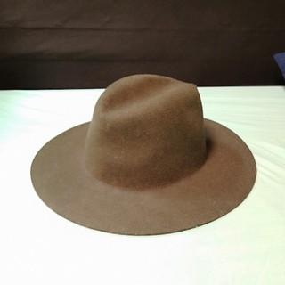 UNUSED - Etudes Studio ツバヒロハット ロングブリムハット 帽子 フェルト
