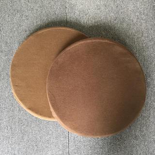 ムジルシリョウヒン(MUJI (無印良品))の無印良品 低反発 クッション 2枚(クッション)
