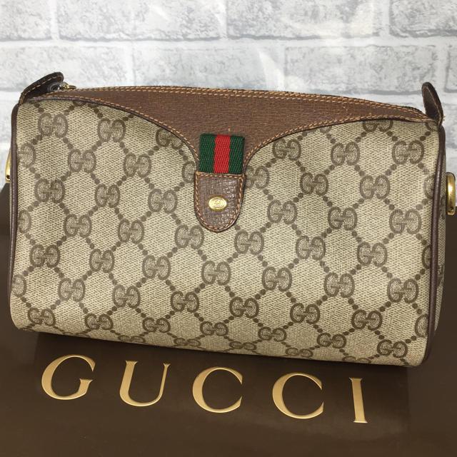 Gucci - 素敵❤️GUCCI オールドグッチ ポーチ ヴィンテージ クラッチバッグの通販 by ☆りんごぱい☆'s shop
