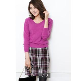 ジャスグリッティー(JUSGLITTY)のジャスグリッティー ♡チェックミニスカート(ひざ丈スカート)
