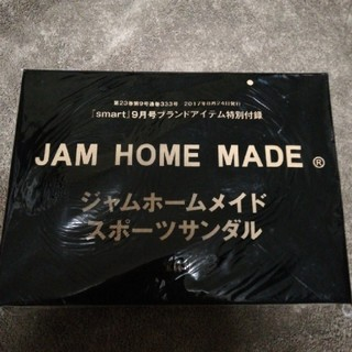ジャムホームメイドアンドレディメイド(JAM HOME MADE & ready made)のsmart 2017年9月号付録 ジャムホームメイド スポーツサンダル(サンダル)