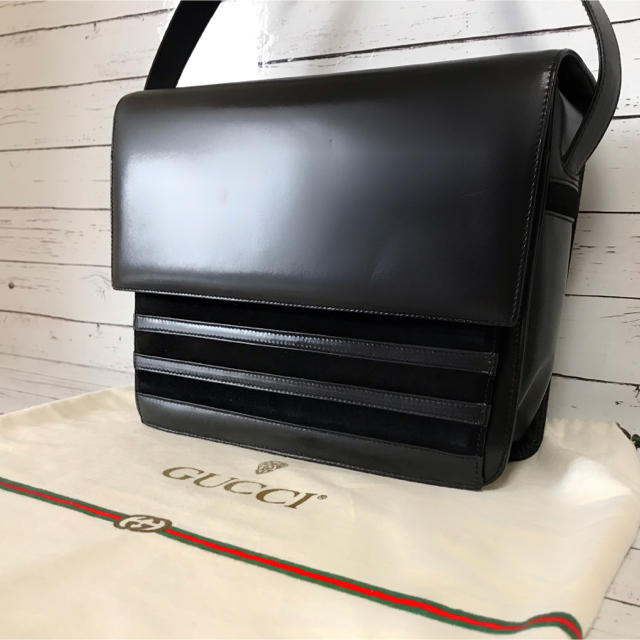 Gucci - 【希少・極美品】グッチ GUCCI OLD ベロア ショルダーバッグの通販 by BOOP's shop