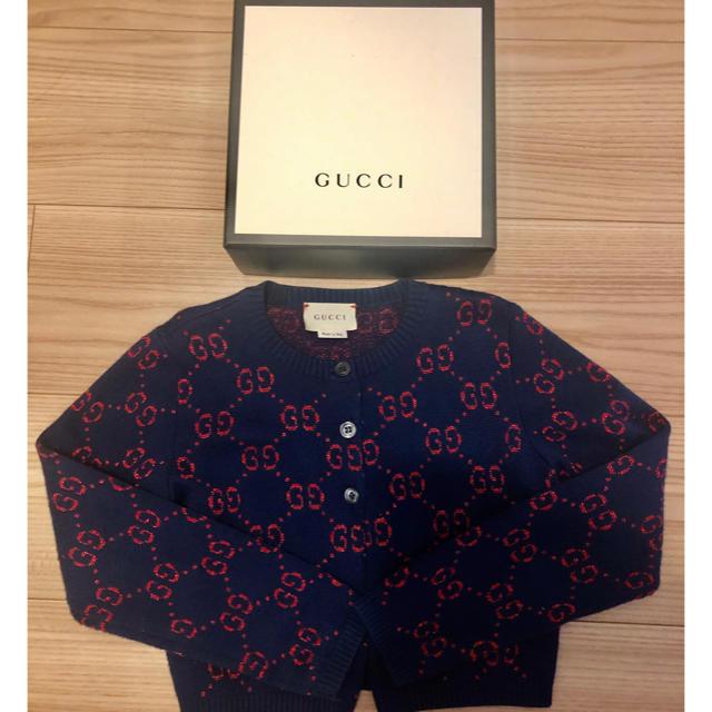 Gucci - GUCCI チルドレン カーディガンの通販 by まいまい's shop