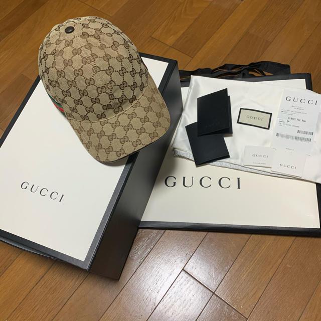 Gucci - GUCCI オリジナルGGキャンバス ベースボールキャップの通販 by 嵐を呼ぶクレヨン商店