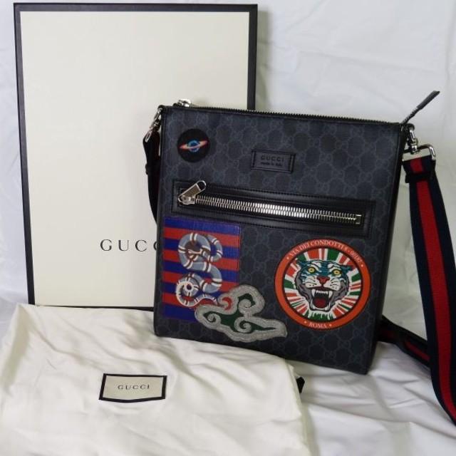 Gucci - クーリエ GGスプリーム ショルダーバッグ グッチの通販 by ひろ's shop