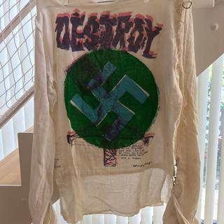 ヴィヴィアンウエストウッド(Vivienne Westwood)のセディショナリーズ ガーゼ シャツ(Tシャツ/カットソー(七分/長袖))