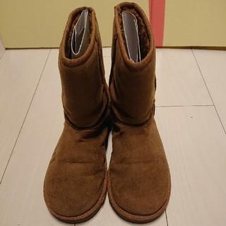 ◆美品‼️【中ボアブーツ】ブラウン/24.5cm(ブーツ)