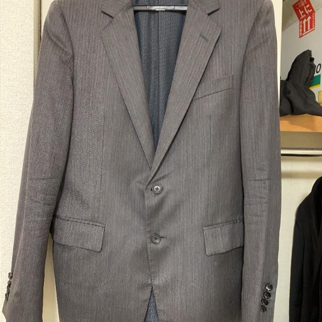 Gucci - GUCCI グッチ 2Bグレーストライプスーツ 48 訳ありの通販 by taka's shop