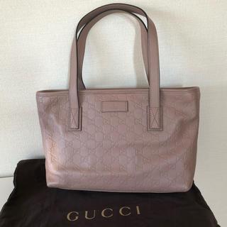 Gucci - 超美品!GUCCI グッチ  シマレザートートバッグの通販