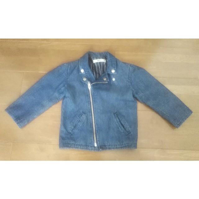 MPS(エムピーエス)のMPS デニムジャケット 100 キッズ/ベビー/マタニティのキッズ服男の子用(90cm~)(ジャケット/上着)の商品写真