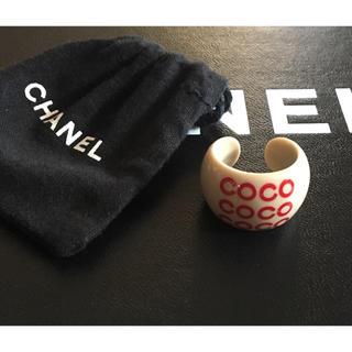 シャネル(CHANEL)のシャネル❤️正規品 ココリング 未使用(リング(指輪))