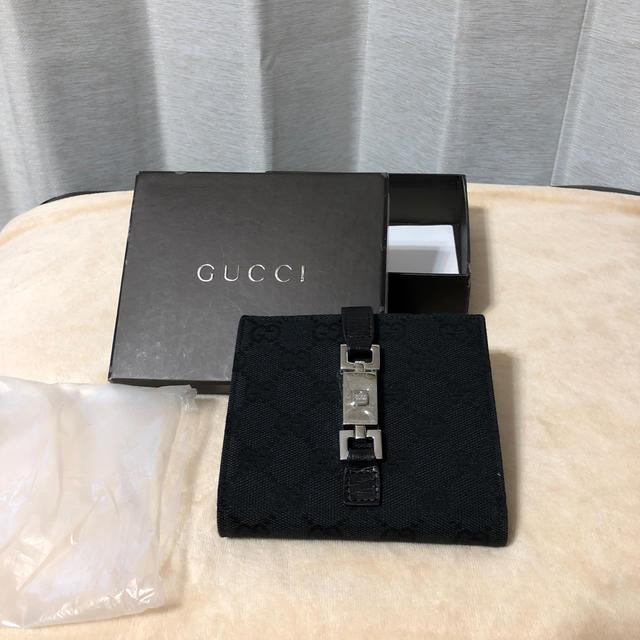 Gucci - GUCCI 二つ折り財布の通販 by deko's shop