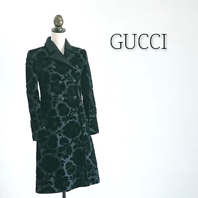 Gucci - GUCCI グッチ ロングコート レディースの通販 by マリアリ's shop