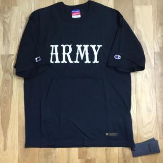ネイバーフッド(NEIGHBORHOOD)のネイバーフッド✖︎マッドネス✖︎Champion Sサイズ 黒(Tシャツ/カットソー(半袖/袖なし))