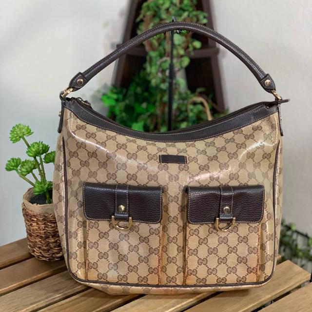 Gucci - GUCCI-グッチ-ワンショルダーバッグ GGクリスタルの通販 by minaaaami's shop