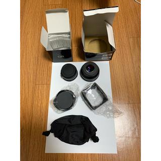 リコー(RICOH)のらぱん様専用リコー GW-3 & アダプター  GH-3 ADAPTER(レンズ(単焦点))