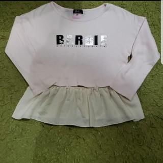 バービー(Barbie)のバービー Barbie☆長袖カットソー☆ロンT☆120サイズ☆ピンク(Tシャツ/カットソー)