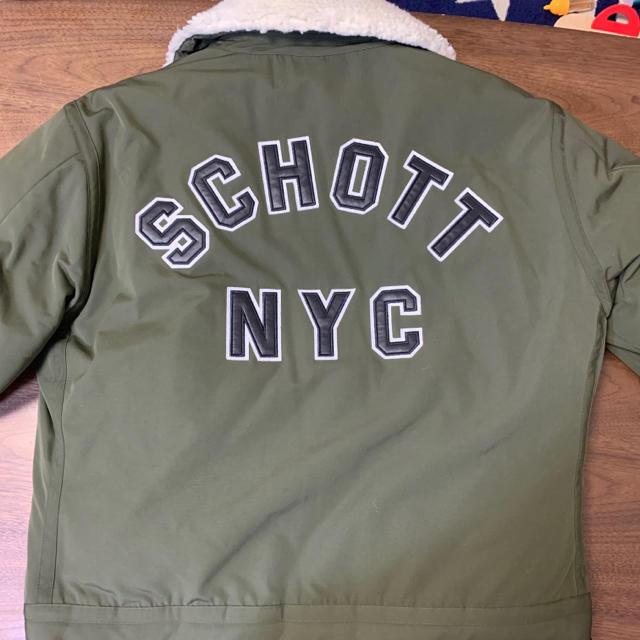 schott(ショット)のSchott  ブルゾン メンズ XL カーキ メンズのジャケット/アウター(ブルゾン)の商品写真