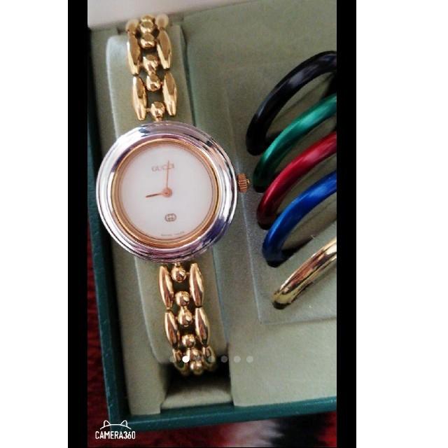 Gucci - 美品GUCCIグッチチェンジベゼル腕時計 の通販 by brian143's shop