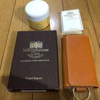 ホワイトハウスコックス(WHITEHOUSE COX)の新品 ホワイトハウスコックス キーケース(キーケース)