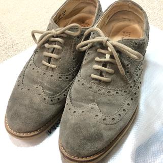 トゥモローランド(TOMORROWLAND)のウィングチップレースアップシューズ(ローファー/革靴)
