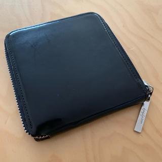 ヨウジヤマモト(Yohji Yamamoto)のヨージヤマモト 革財布。(折り財布)