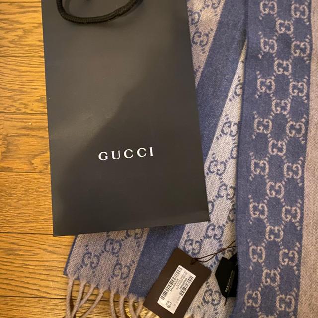 Gucci - グッチマフラー 新品未使用の通販 by けいたろう's shop