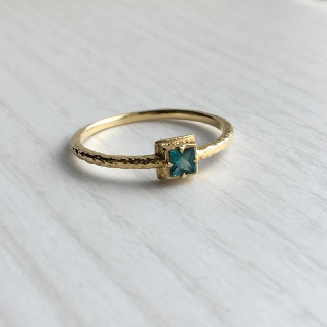 hariqua ハリックァ ハリックア  グランディディエライト k18 18金 レディースのアクセサリー(リング(指輪))の商品写真
