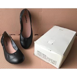 フラットシューズ フラットパンプス ぺったんこパンプス ぺったんこ靴 黒(ハイヒール/パンプス)