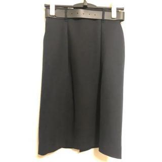 アオキ(AOKI)のAOKI スーツ スカート ベルト付き(スーツジャケット)