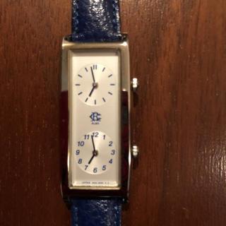 アルバ(ALBA)の時計板が2つの珍しい アルバ 腕時計 国産品(腕時計)