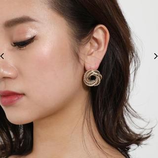 リエンダ(rienda)のrienda♡GLD chain round pierce(ピアス)