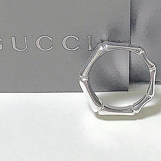 Gucci - GUCCIバンブーリングの通販 by 鯖