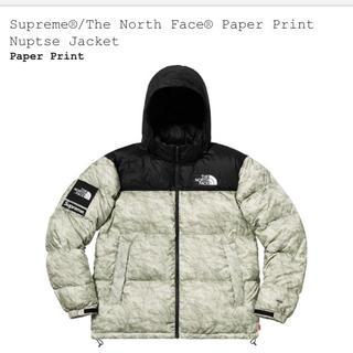 シュプリーム(Supreme)のS supreme north face nuptse jacket(ダウンジャケット)