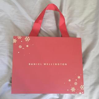 ダニエルウェリントン(Daniel Wellington)のDaniel Wellington ダニエルウェリントン ショップ袋(ショップ袋)