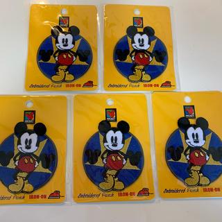 ディズニー(Disney)のアイロンワッペン 新品(通園バッグ)