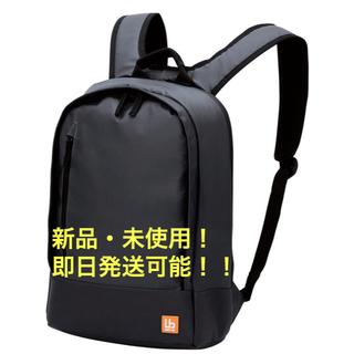 エレコム(ELECOM)のバックパック 超軽量 豊富 小物ポケット付 ブラック BM-BP01BK(リュック/バックパック)