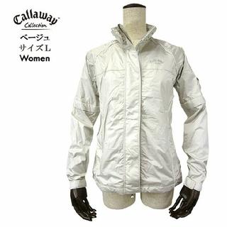 キャロウェイゴルフ(Callaway Golf)のCallaway キャロウェイ ウィンドブレーカー L~LL ゴルフウェア女性用(ウエア)