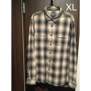 エクストララージ(XLARGE)のX-LARGE サイズXL チェックシャツ バックプリント(シャツ)