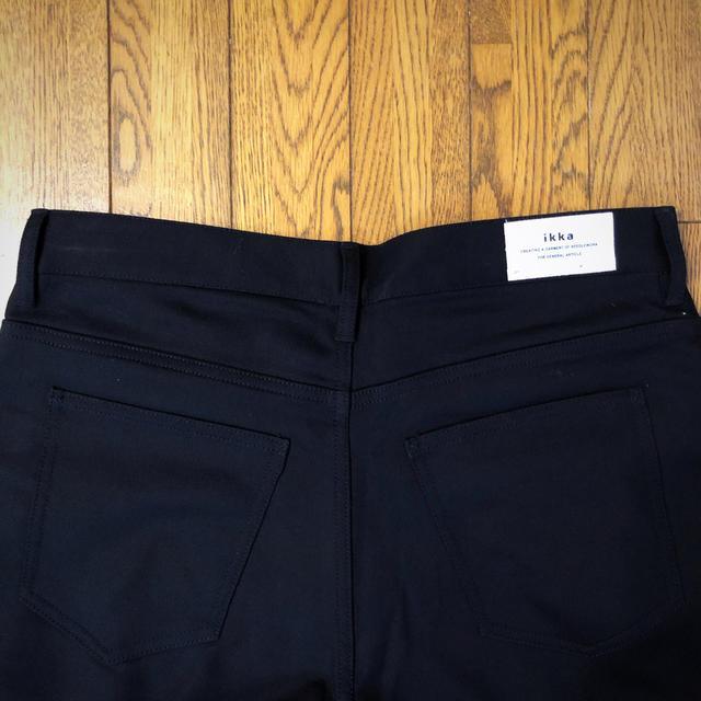 ikka(イッカ)の新品タグ付 ikka イッカ ストレッチパンツ M レディースのパンツ(カジュアルパンツ)の商品写真